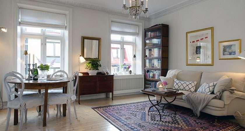 Urban Country Style Interiors Swedish Apartment