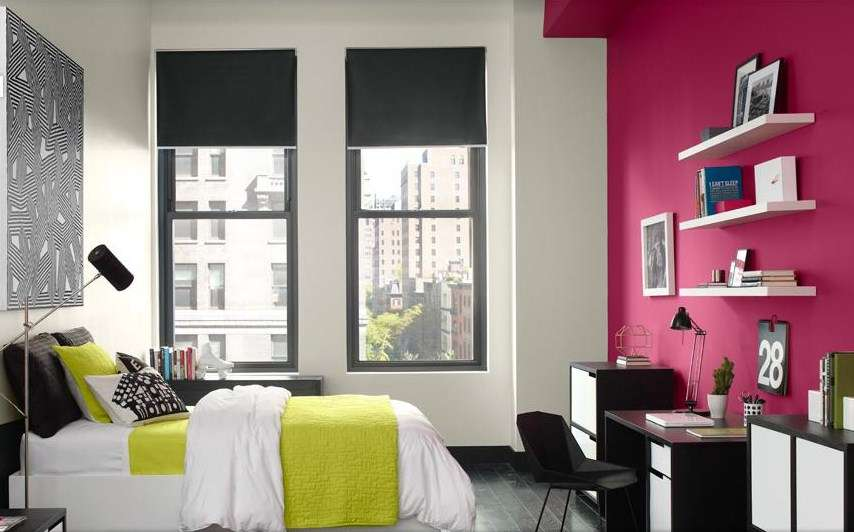 Using Hot Pink Your Interior Bedroom Design