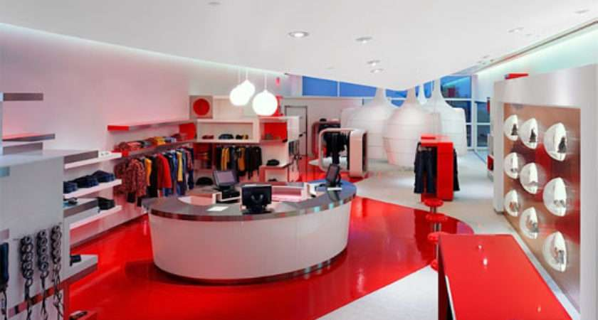 Uzumaki Interior Design Fashion Store Decorating