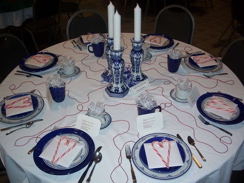 Valentine Day Table Decorating Design Ideas