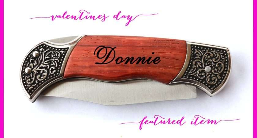 Valentines Day Gifts Him Personalized Knife Men