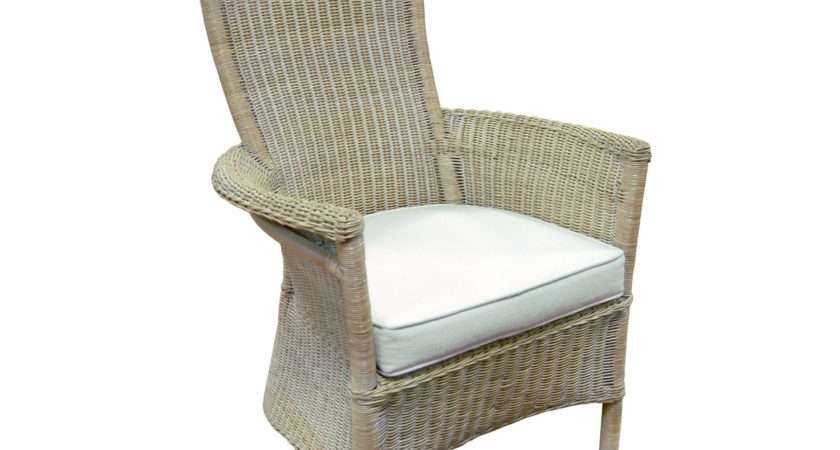 Vanessa Wicker Chair Bedroom Chairs Glasswells