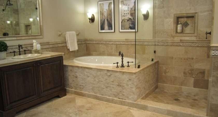 Vanity Honed Driftwood Travertine Bathroom Oil Rubbed Bronze