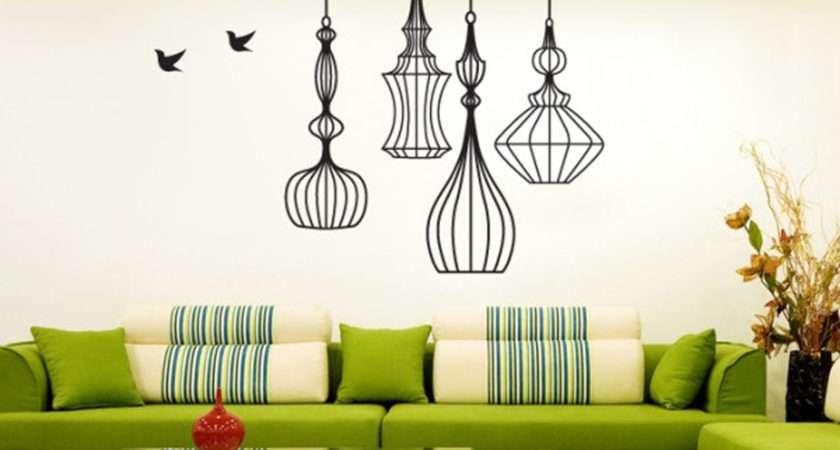 Various Unique Wall Paint Ideas Simple Diy