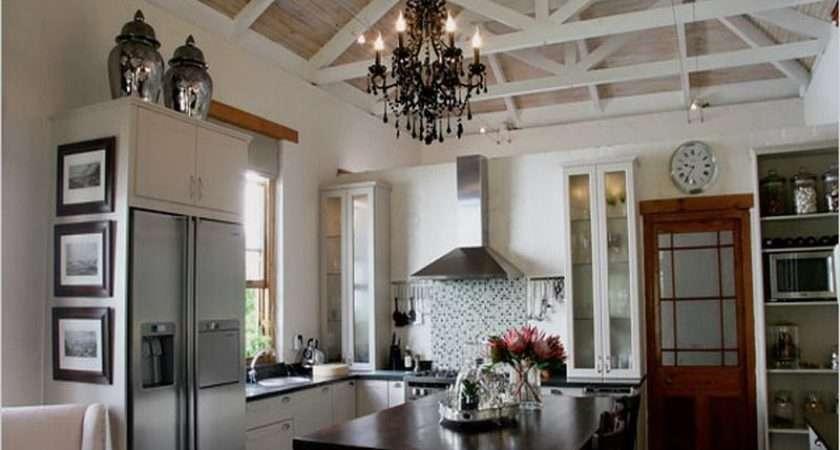 Vaulted Ceiling Kitchen Ideas Home Interior Design