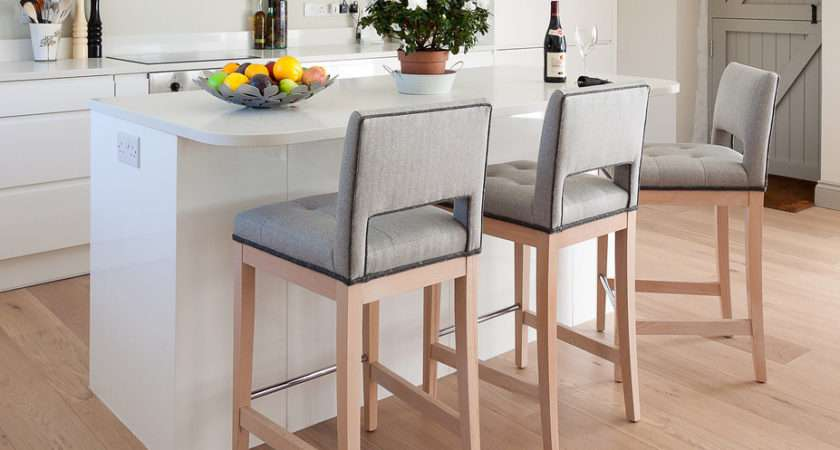 Vent Back Bar Stool