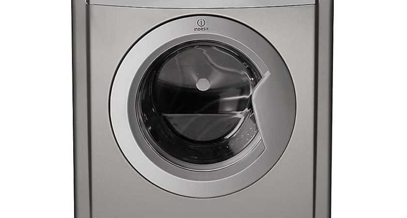 Vented Tumble Dryer Idv Indesit Silver Look