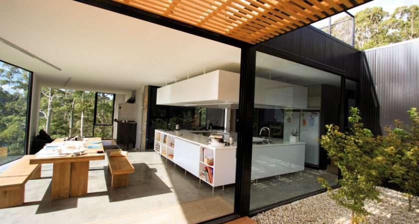 Veranda Design Idea Open Roof Glazed