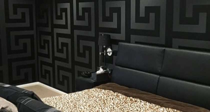 Versace Greek Key Black Home Decor Hull Limited