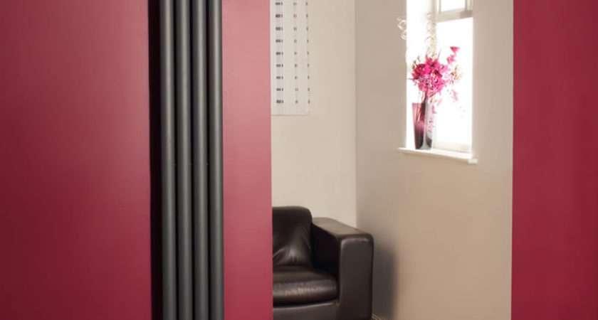 Vertical Designer Radiators Oval Columns Tall Upright
