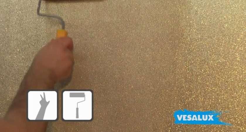 Vesalux Glitter Shimmering Paint Walls