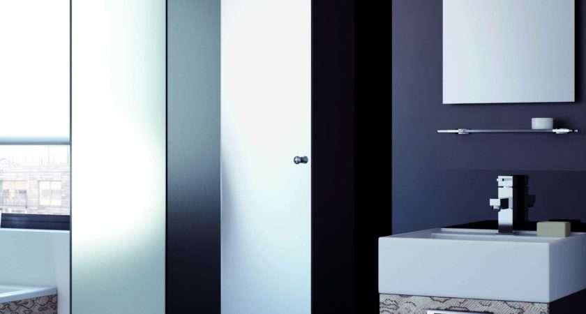 Vibe Designer Modular Tall Mirrored Bathroom Cabinet Midi