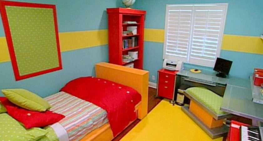 Vibrant Funky Girl Bedroom Kids Room Ideas Playroom