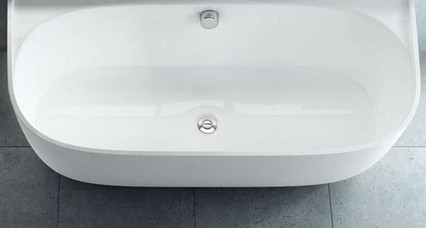 Victoria Albert Eldon Back Wall Freestanding Bath