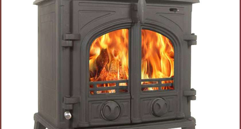 Victoria Wood Burning Stove Multifuel Log Burner Cast