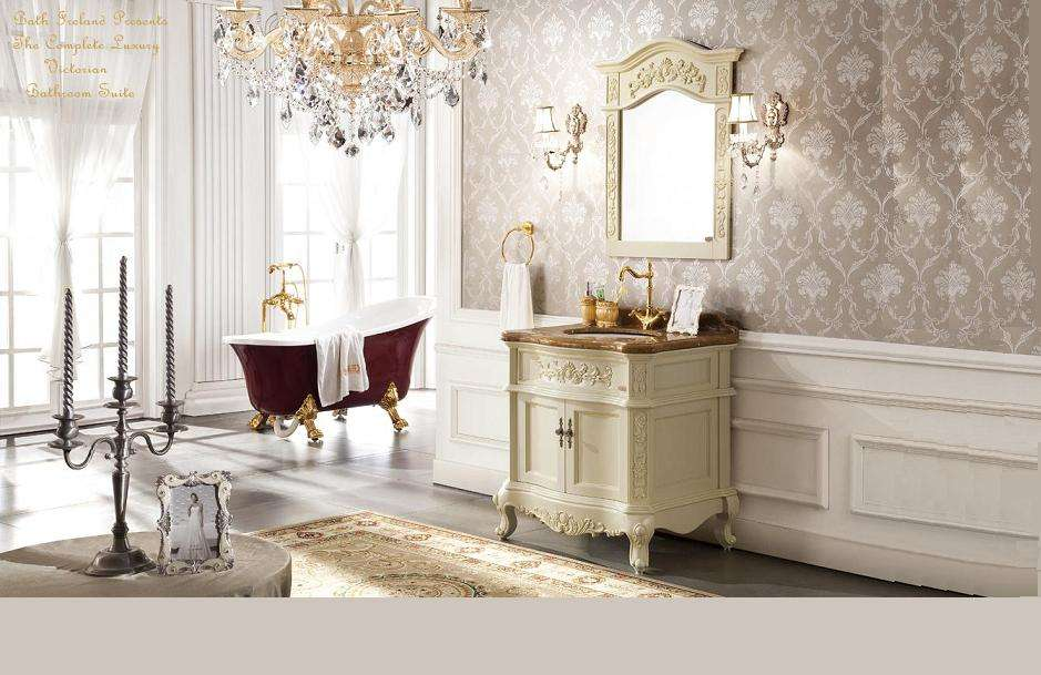 Victorian Bathroom Suite Dublin Cast Iron Slipper Bath