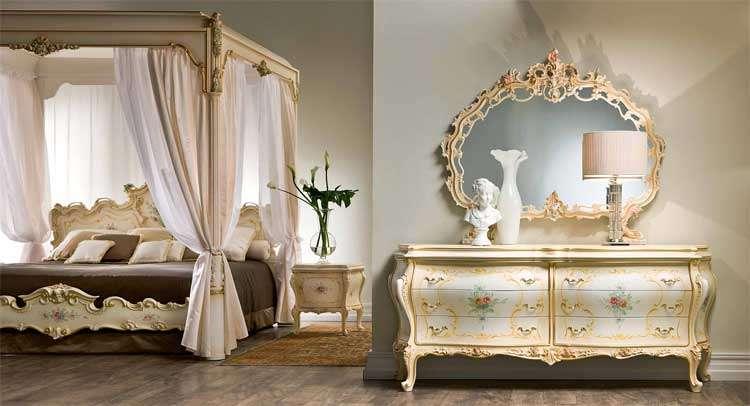 Victorian Bedroom Venere Baldacchino Furniture