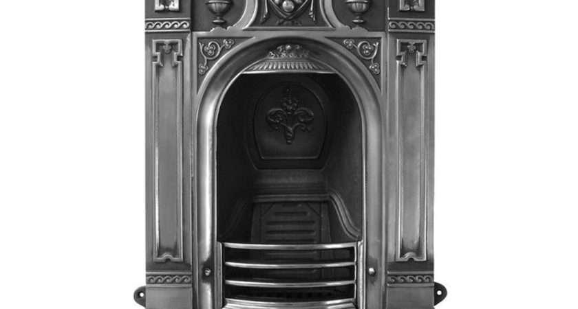 Victorian Carron Small Combination Cast Iron