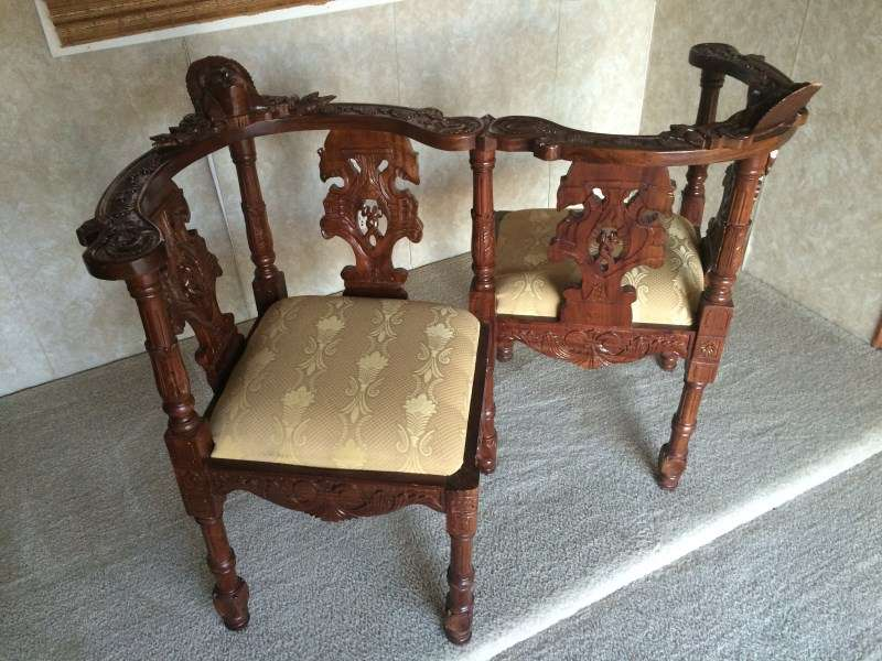 Victorian Courting Chair Christina Lake Buyselltrade