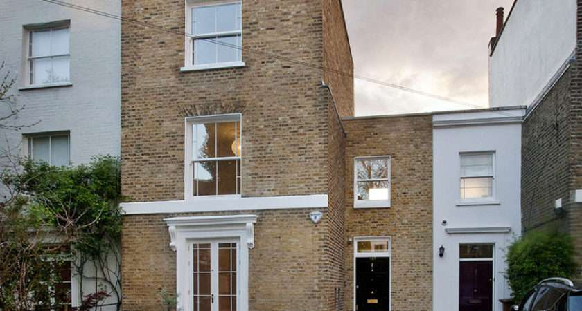 Victorian Home London Gets Curvaceous Bodacious Extension