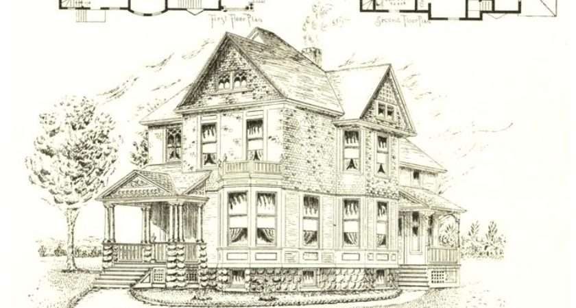 Victorian House Layout Plan Small