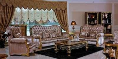 Victorian Living Room Sofa