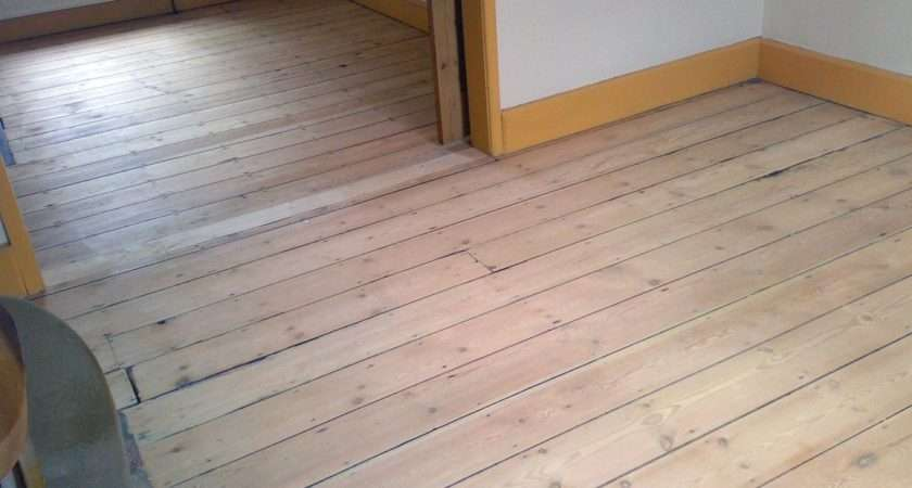 Victorian Pine Floorboards Sanded Natural Finish