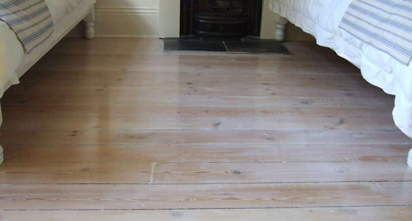 Victorian Pitch Pine Floorboards