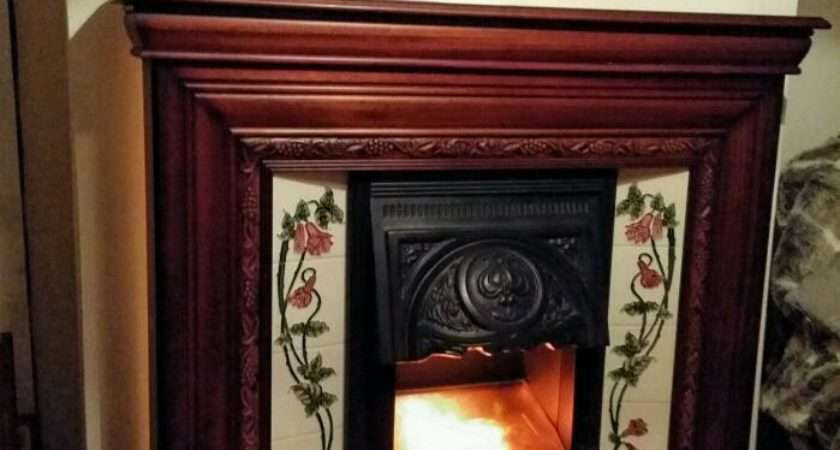 Victorian Style Electric Fireplace Suite Northfield