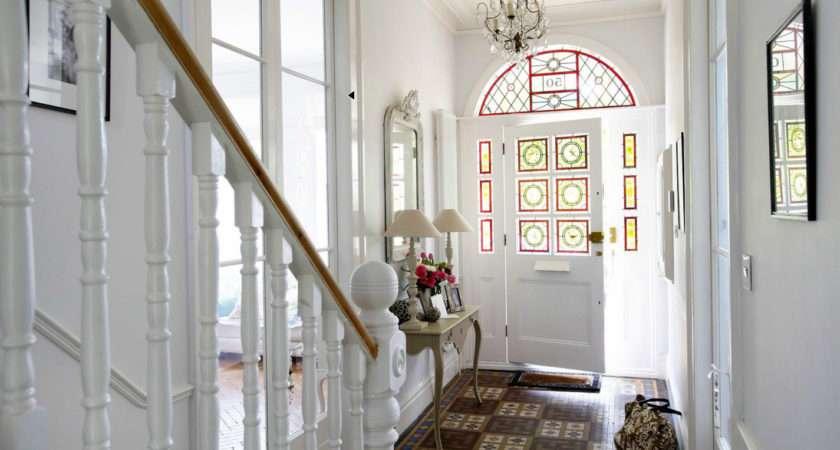 Victorian Tiled Floor Entrances Hallways Pinterest