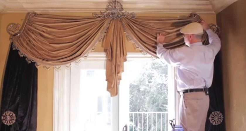 Video Tips Swag Curtains Diy Create