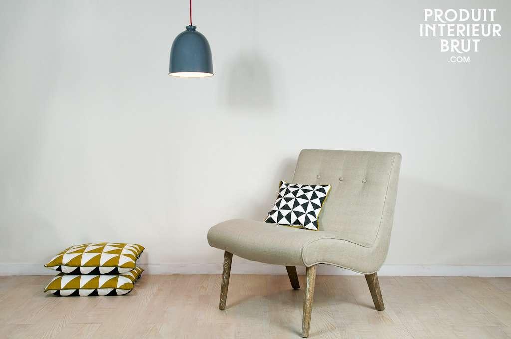 Vintage Armchair Look Robust Comfortable
