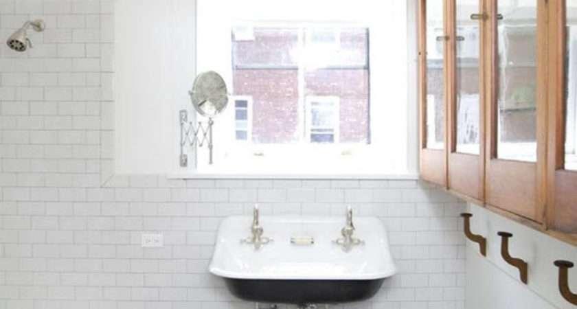 Vintage Black White Bathroom Tile Ideas