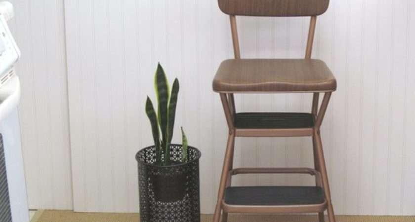 Vintage Cosco Kitchen Stool Step Ladder