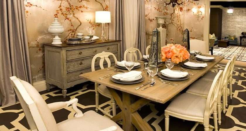 Vintage Dining Room Decorating Ideas Home