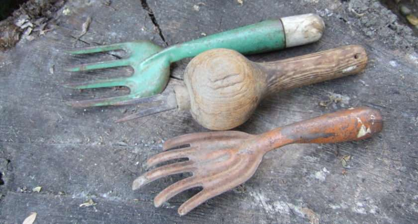 Vintage Gardening Tools Antique