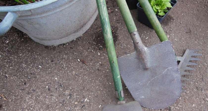 Vintage Gardening Tools Miniature Thewellseasonednest