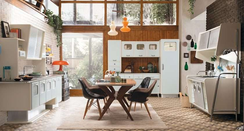 Vintage Kitchen Offers Refreshing Modern Take Fifties