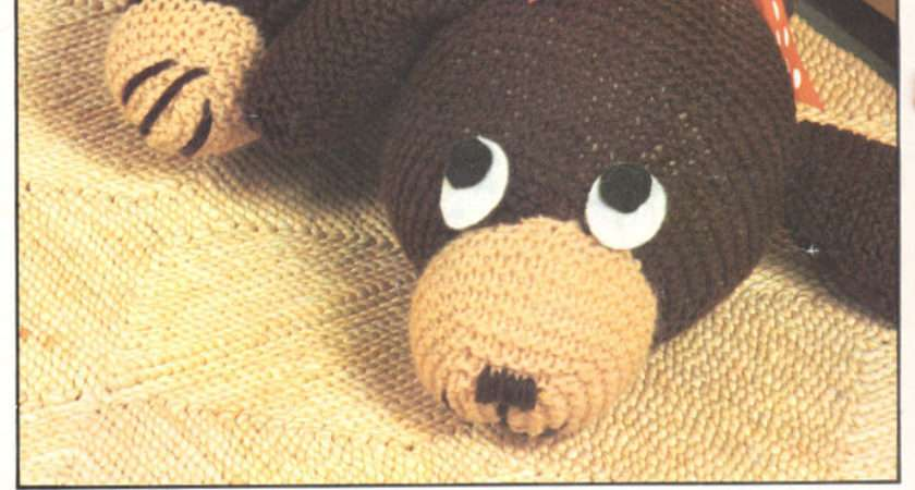 Vintage Knitting Pattern Toy Dachshund Draught Excluder Ebay