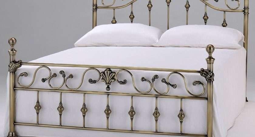 Vintage Metal Bed Frames Shabby Chic Iron Frame