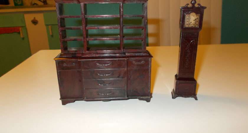 Vintage Plasco Toys Doll House Furniture