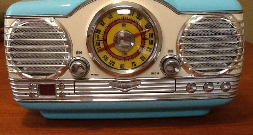 Vintage Retro Style Memorex Radio Atomicancient