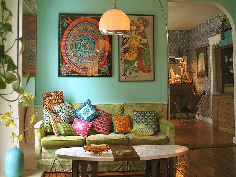 Vintage Room Design Home Ideas Interior