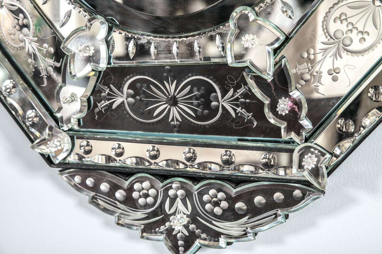 Vintage Venetian Style Mirror Stdibs