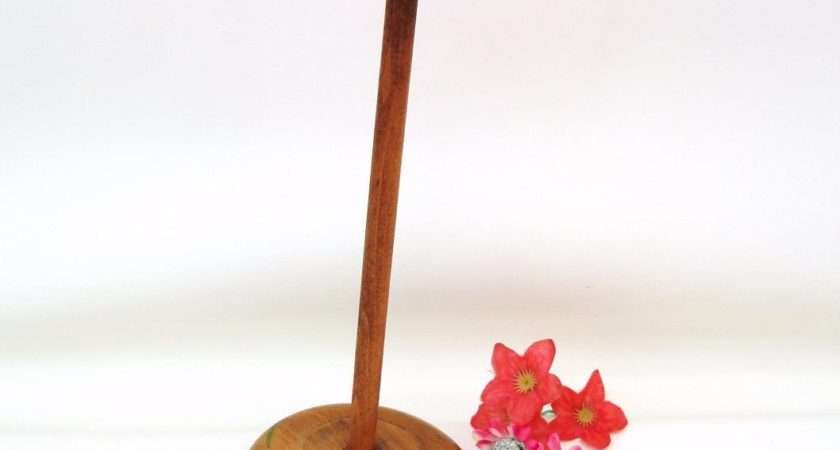 Vintage Wooden Hat Stand Small Rack Wood Millinery Display