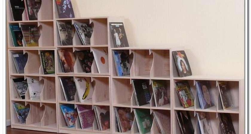 Vinyl Box Storage Record Lps