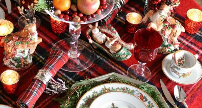 Visit Nicholas Christmas Table Home