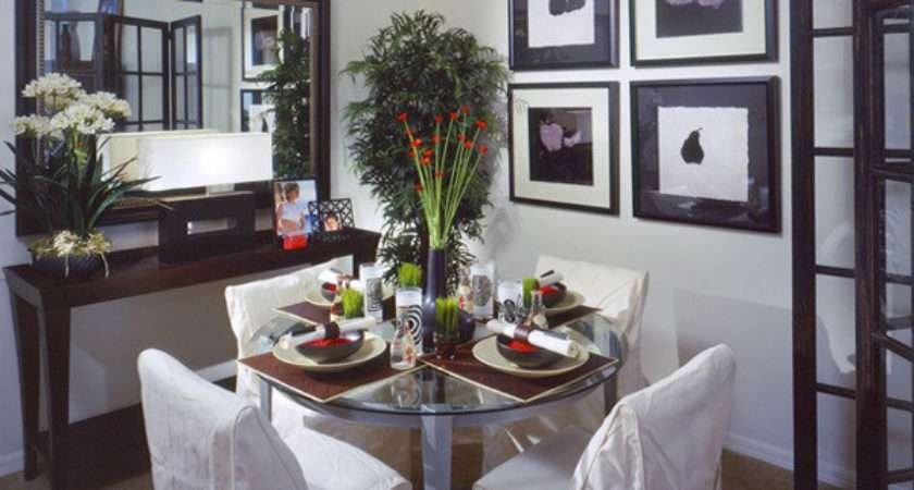 Visually Enlarge Small Dining Room