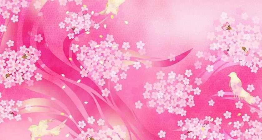 Vol Pink Sweet Floral Design
