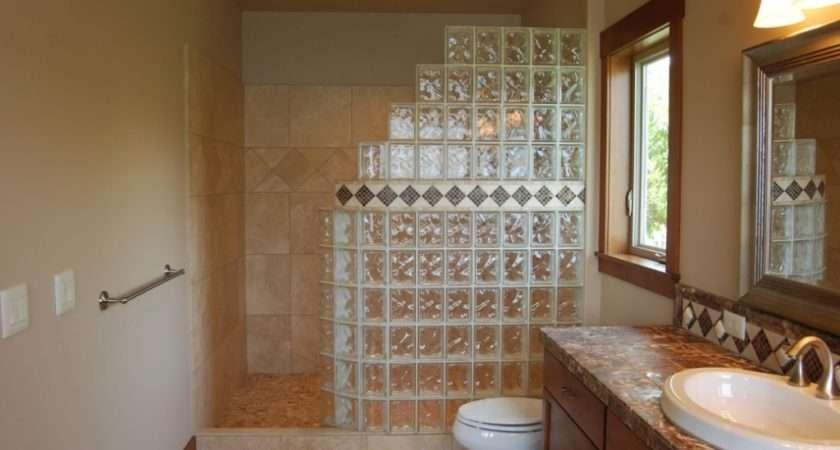 Walk Shower Designs Small Bathrooms Well